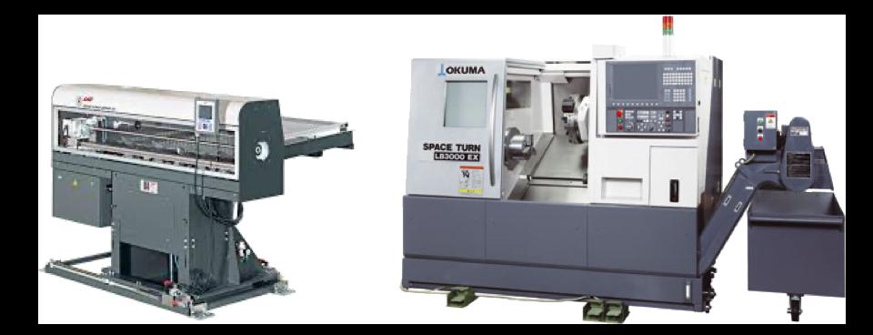 1 tour CNC Okuma LB3000