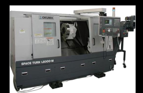 1 tour CNC Okuma LB300