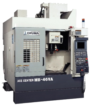 2 centres d'usinage CNC 3 axes Okuma MB46VA